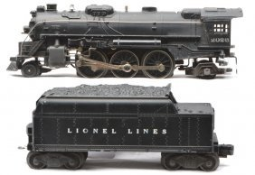 Lionel 2026 Steam Loco & 6466W Tender