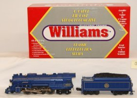 Williams Jersey Central Blue Comet Berkshire