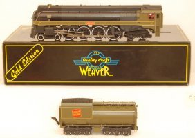 Weaver Canadian National U4-A Steam Locomotive