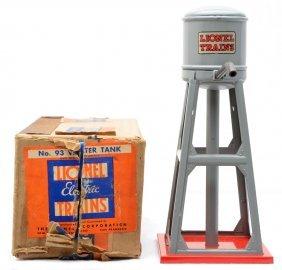 Lionel Prewar 93 Gray Water Tank MINT Boxed