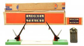 Lionel 47 Automatic Double Crossing Gate OB