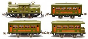 Lionel Olive Green Pass Set 294 252 2-529 530