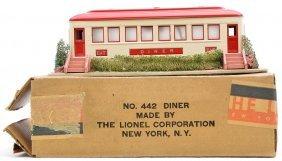 Lionel Prewar 442 Landscaped Diner LN OB