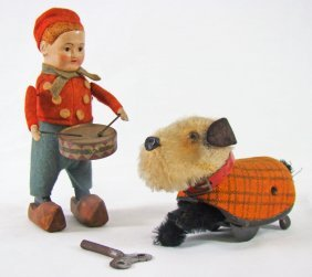 2 Schuco Wind-up Toys