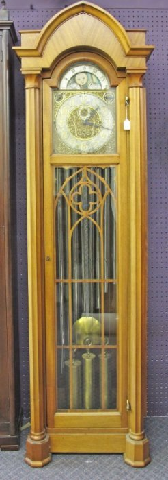 Colonial Mfg. Winterhalder Grandfather Clock Moon Phase : Lot 52