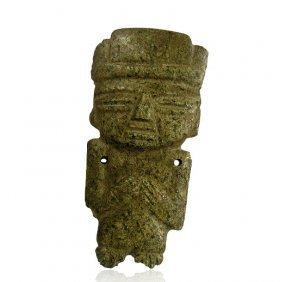 Pre-columbian Teotihuacan Stone Figure