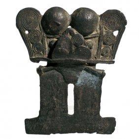 Pre-columbian Tairona Tumbaga Pectoral Pendant