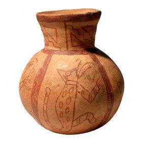 Pre-columbian Moche Gadrooned Vessel