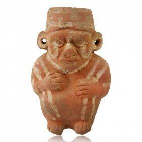 Pre-columbian Moche Figural Vessel