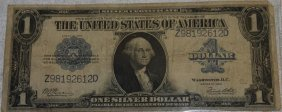Series Of 1923 $1 Silver Certificate,