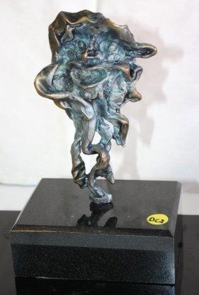 Dali Signed & Numbered Bronze Sculpture - Faun, Man