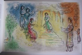 M Chagall Original Signed Litographs Odyssee Serie