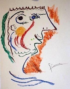 Picasso Original Litho Signed - Le Gout Du Bonheur Coll