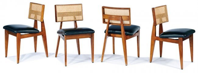 George Nelson Dining chairs 4 Lot 15 : 265461901l from www.liveauctioneers.com size 650 x 241 jpeg 26kB