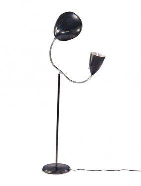 Greta Grossman, Double Shade Floor Lamp