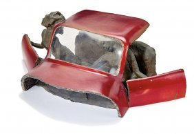 James Gill, Untitled (couple In A Red Car)