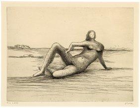 Henry Moore, Untitled (reclining Figure Portfolio) (6)