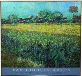 Van Gogh In Arles Exhibit Poster