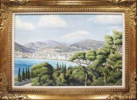 Warner Hoople Original Oil On Canvas