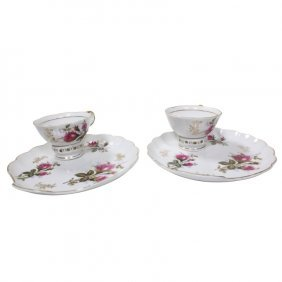 Pair Of Ardalt Japan Plate And Cup