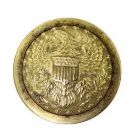 Federal Staff Officer Dome Button