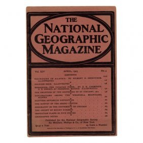 National Geographic Magazine April 1903