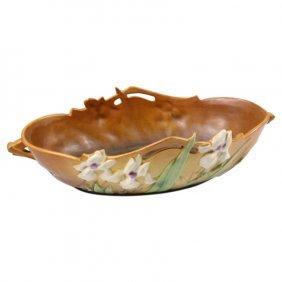 Roseville Pottery Iris Console Bowl