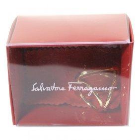 Salvatore Ferragamo Vara Scarf Ring