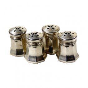 Bullocks Wilshire Set Of 4 Indv, S&p Shakers