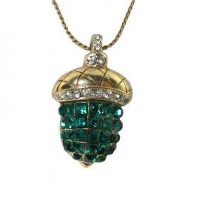 Acorn Pendant And Chain