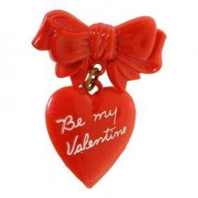 Valentine Brooch