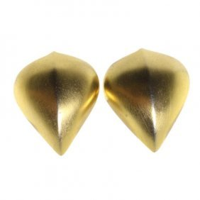 Givenchy Paris New York Clip On Earrings