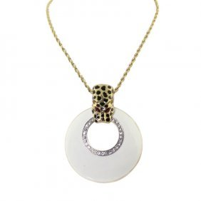 Kenneth Lane Necklace And Leopard Pendant