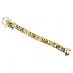 Kafin New York Rhinestone Bracelet