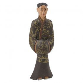 Wooden Asian Figure