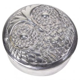 Reed & Barton Owl Trinket Keepsake Box