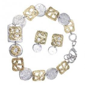 J. Jansen Earring & Necklace Set