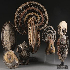 SEPIC RIVER CARVED WOOD AND WOVEN DECORATIVE ARTS