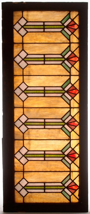A stained glass and leaded window panel circa 1900 lot 822 for 1900 stained glass window
