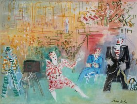 Original Jean Dufy Signed Painting