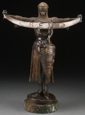 Original French Bronze By Fremiet