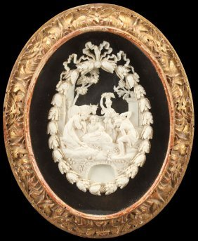 Very Fine Italian Carved Ivory, 17th/18th Century