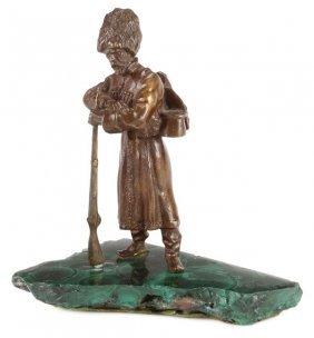 Bronze Kossak Soldier