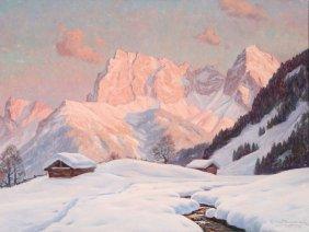 Erwin Kettlemann Alpine Painting