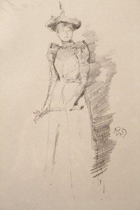 Whistler Etching, 1890