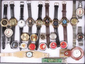 A Group Of 24 Russian Soviet Period Watches