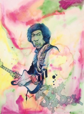 Chris (daze) Ellis Original Watercolor