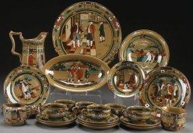 A 23 Piece Collection Of Buffalo Pottery, Deldare