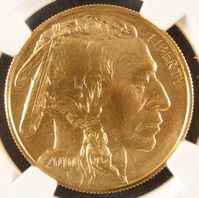 A U.s. 2010 $50 Gold American Buffalo