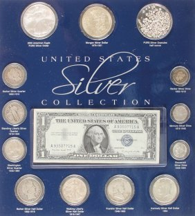 A United States Silver Collection. Comprising A